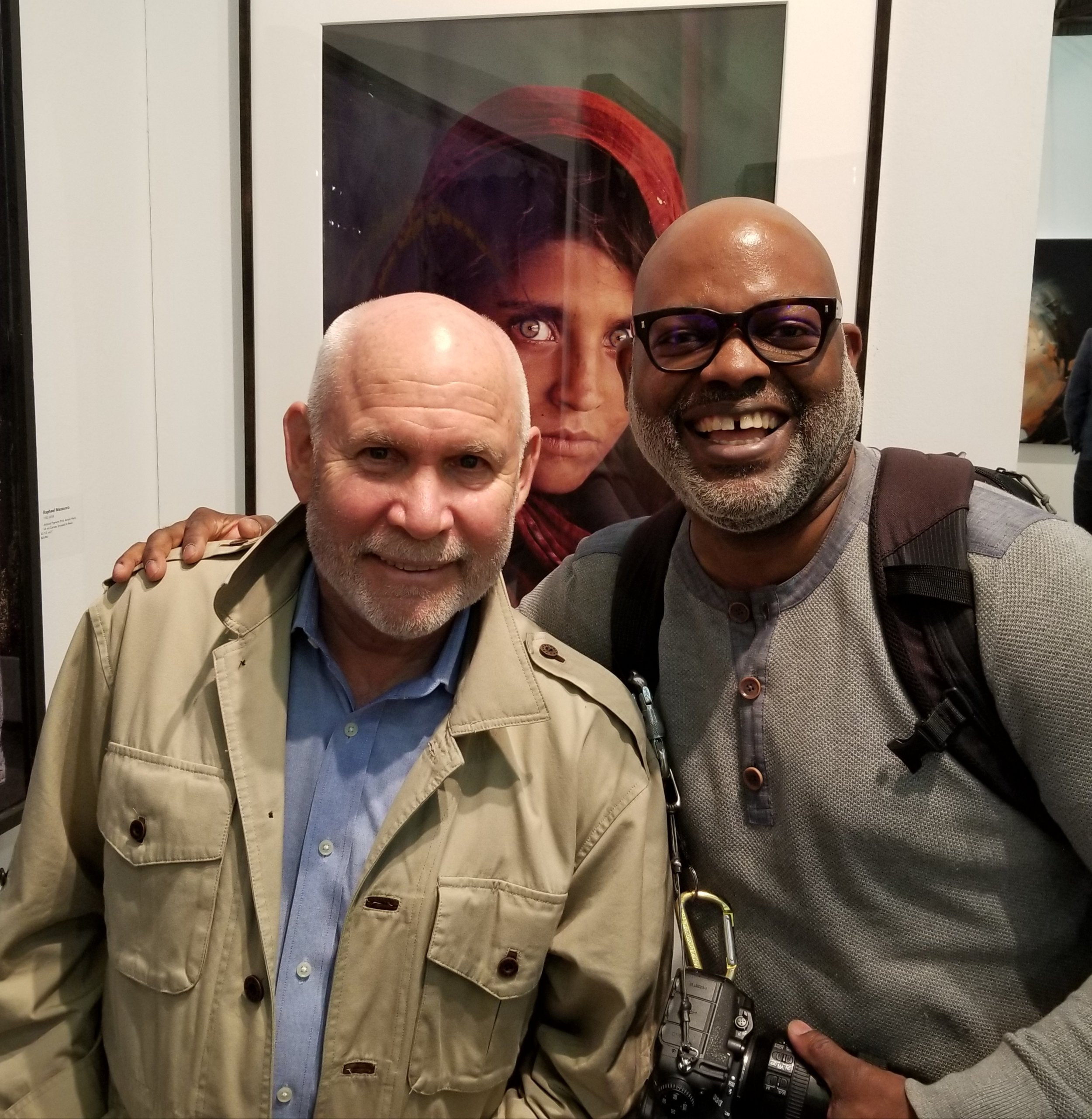 Steve McCurry and Ron Foster at Art New York
