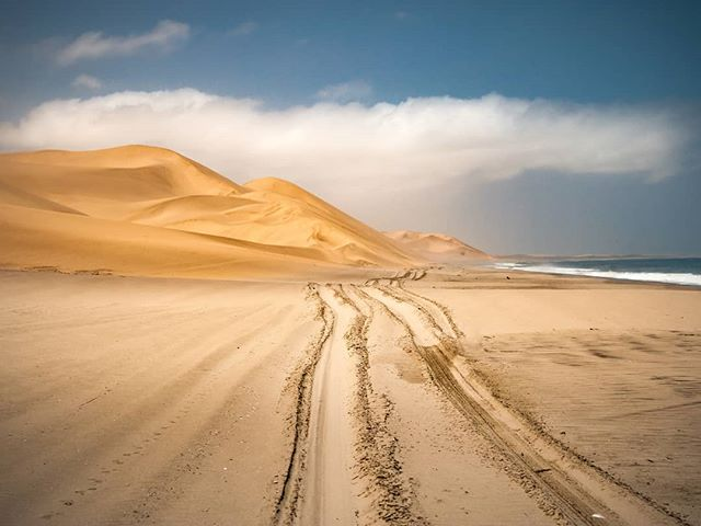 This Week's Images Series Namibia: Land of Landscapes - Title: Tracks Along the Shoreline Dunes Photographer Ron Foster Namibia, December 2016 * Some of the most spectacular landscapes on the planet are located in the great country of Namibia. Once it was called West South Africa but gained its independence in 1990.  Tourism has increased over the last decade. It is one of the most fascinating places I have traveled to Africa to date. Here are images I have captured during my time spent there. Enjoy!❤ * * What are some of your favorite landscapes on our planet? Let's create a list for others. * * * * #sanddunes #dunes #africa #thisweeksimagesseries #shotzdelight #namibia #landscapephotographer #awesome_earthpix #earhofficial #yourshotphotographer #earthexclusive #landscapes #lonelyplanet #planetearth #rometheplanet #earthescope #allnatureshots #discoverearth #earthpix #exploreeverthing #igrepresent #ourplanetdaily #lifeofadventure #wildernessculture
