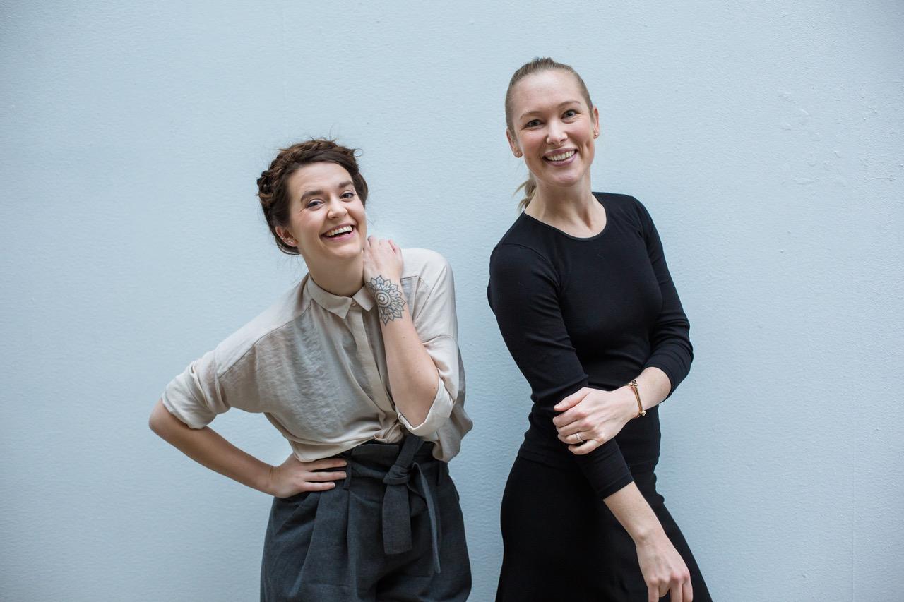 TRYKK PÅ BILDET FOR Å LASTE NED HØYOPPLØSELIG FIL  til ventre: Hanna von Bergen / til høyre Christina Skreiberg