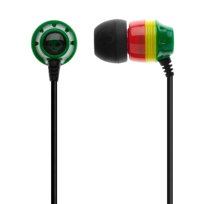 Rasta Skullcandy Headphones   Photo: http://ca.skullcandy.com/shop/ink-d-rasta  Accessed Spring 2013