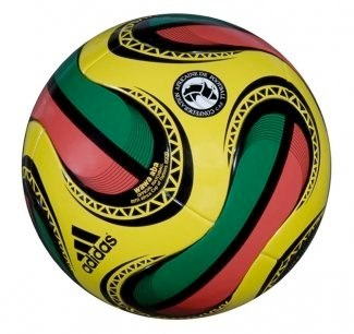 Soccer Ball   Photo: http://www.footy-boots.com/adidas-wawa-aba/  Accessed Spring 2013