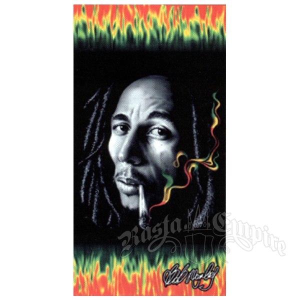 Bob Marley Rasta Smoke Beach Towel   Photo: http://www.electrictshirts.co.uk/bob-marley/bob-marley-rasta-smoke-beach-towel.html  Accessed Spring 2013