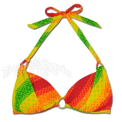 Rasta Swimsuit   Photo: http://www.rastaempire.com/p-1890-rasta-jamaica-mon-hollywood-halter-push-up-bikini-top.aspx  Accessed Spring 2013