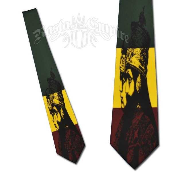 Rasta Haile Selassie Coronation Tie   Photo: http://www.rastaempire.com/c-97-ties.aspx  Accessed Spring 2013