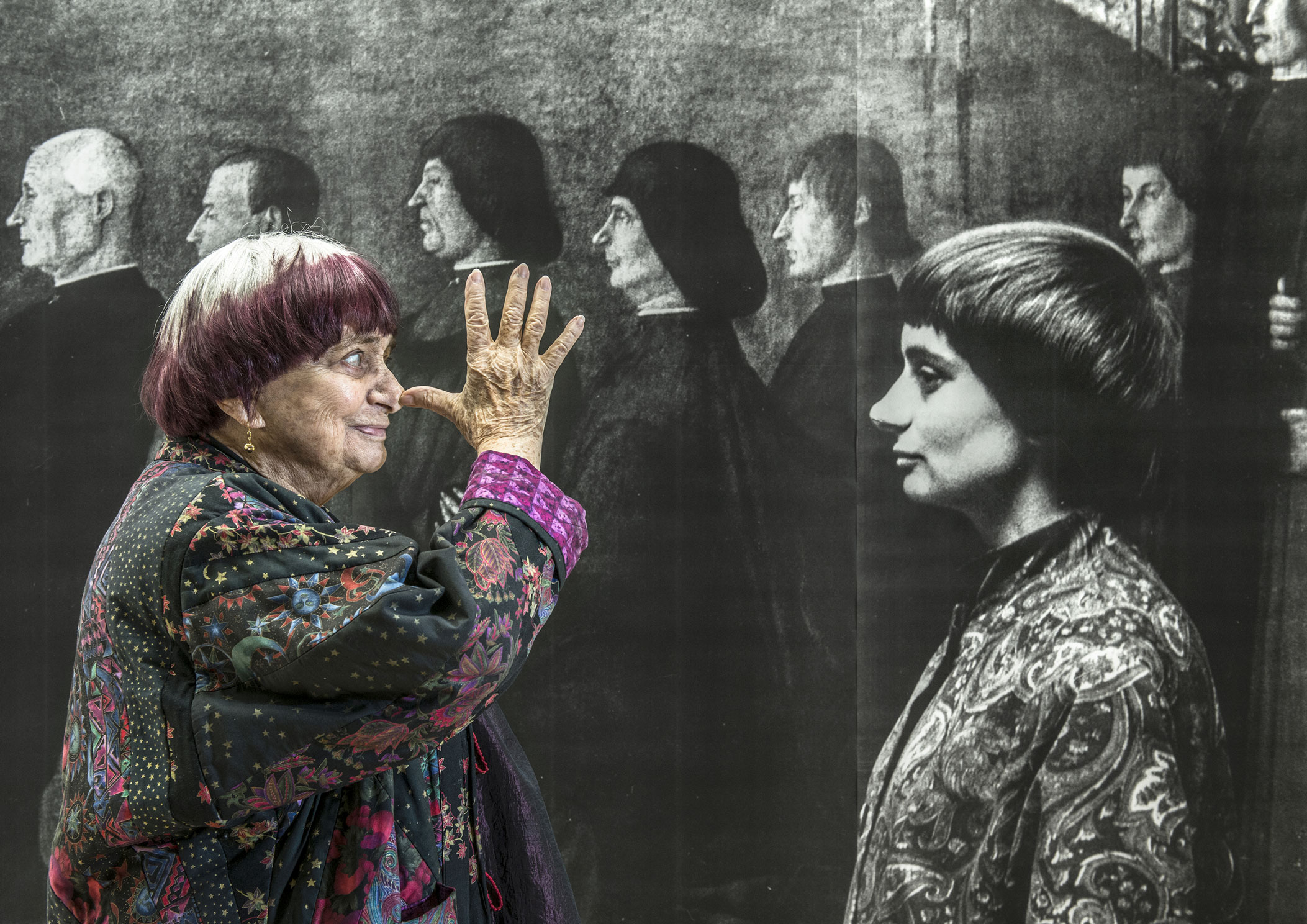 Agnès Varda, old and new.