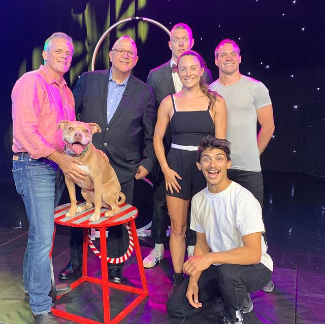 Thx @wgnnews and #DeanRichardsWGN for having us on today. We will see you under the Big Top! @dom_s_cruz @devhasnoinsta @mayunchski @book_kennison #MidnightCircus @chicagoparks