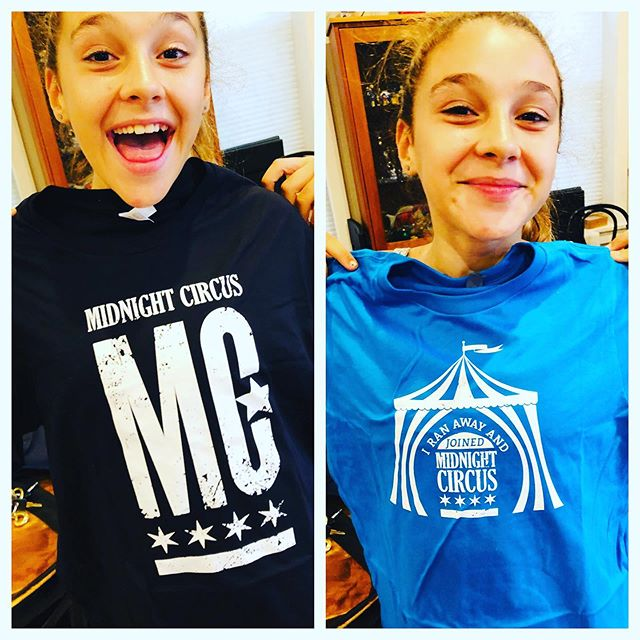 Sweet new #midnightcircus swag! Available only at the circus. Get your tickets, get a shirt & be the envy of all your friends! 🔥🎪😊#circus #chicago #community #circusintheparks @chicagoparks