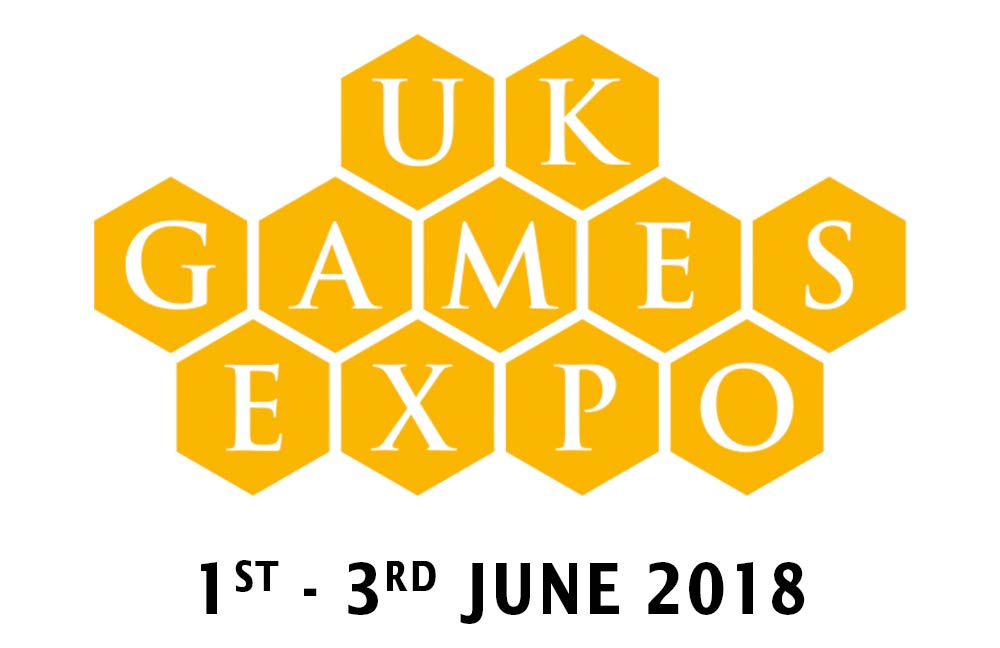 WE'LL BE THERE! - DNAR Games will have a stall at this year's UK Games EXPO held at Birmingham's incredible NEC.  Click here for more info.