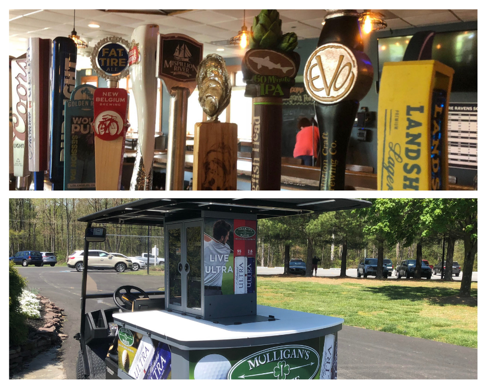 Beer & Drinks - Provide Beverage Service on the Course To Your Group! Check Out Our Party Cart Options.
