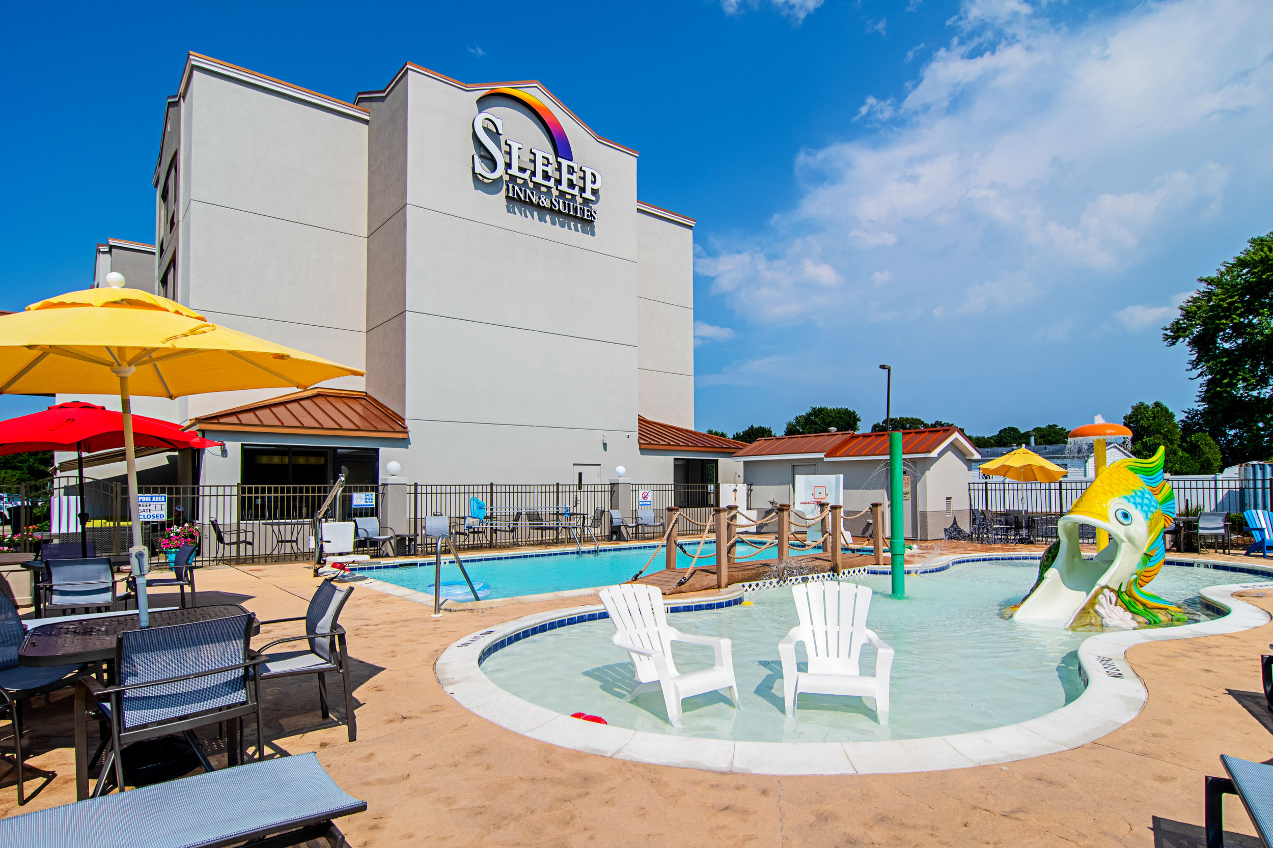 Sleep Inn and Suites Lewes   Outdoor Pool, Breakfast  13 miles  302-645-6464