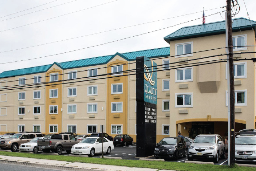 Quality Inn & Suites Rehoboth   Breakfast, WiFi, Indoor Pool  17 miles  302-226-2400