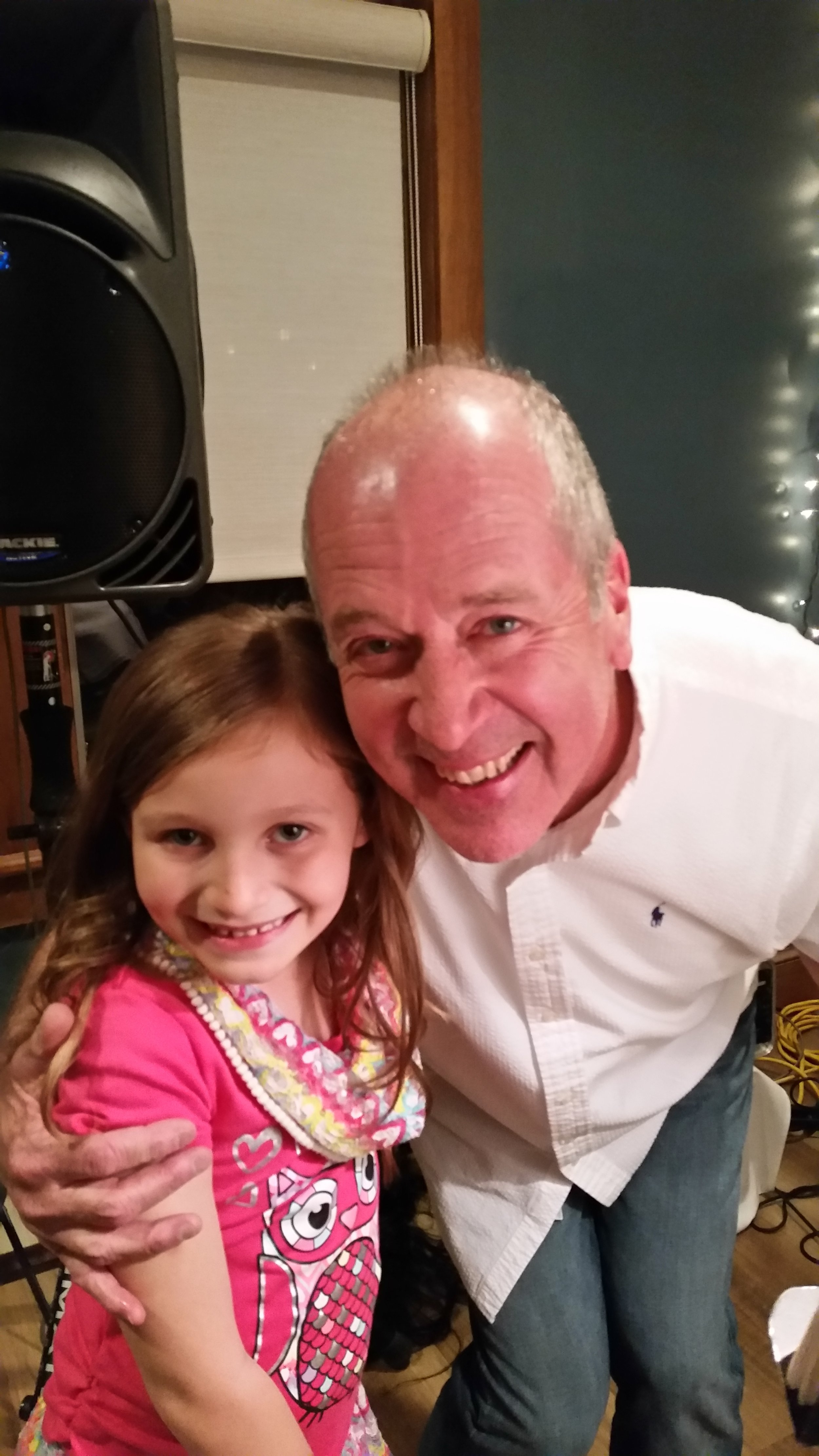 "Submitted by Pam Holloway' via Photo Contest    ""  Stevie D was performing and he sang a special song to my granddaughter. She will always remember it! Her favorite song is, ""You are my Sunshine"". Thank you Stevie D!!!- Pam holloway"