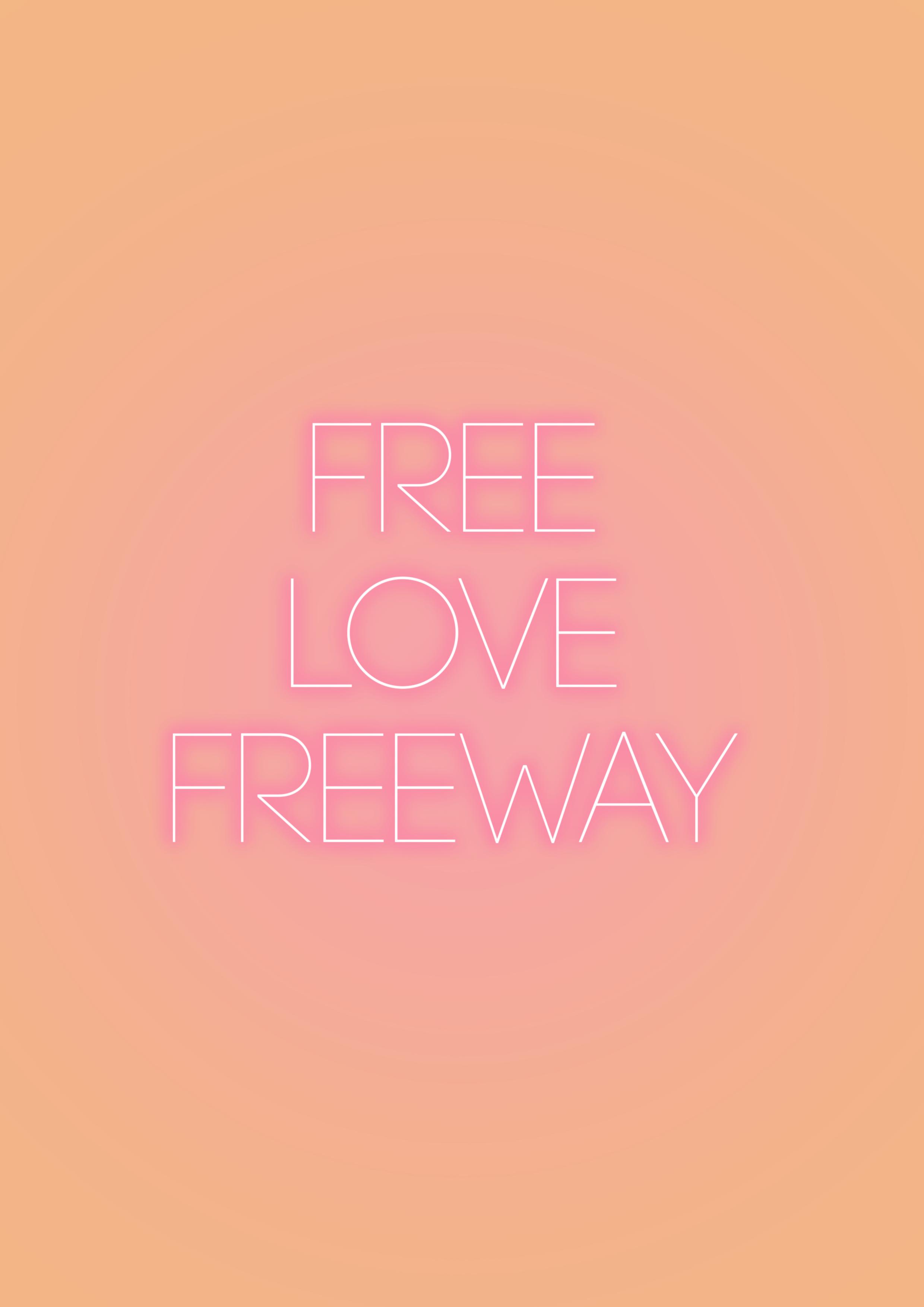 Neon free love freeway.png