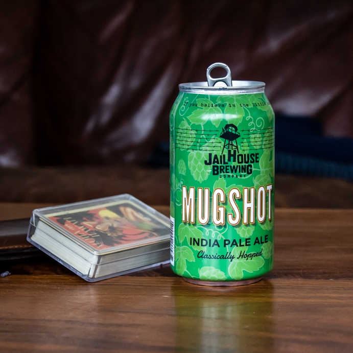 Mugshot IPA is brewed with an arresting lineup of American hop varieties. Over the years we've discovered a great mix of aromas and flavors including grapefruit, orange peel and piney resin that define our IPA. Malt flavors take a back seat to the hops, giving this beer a drinkable and balanced experience.