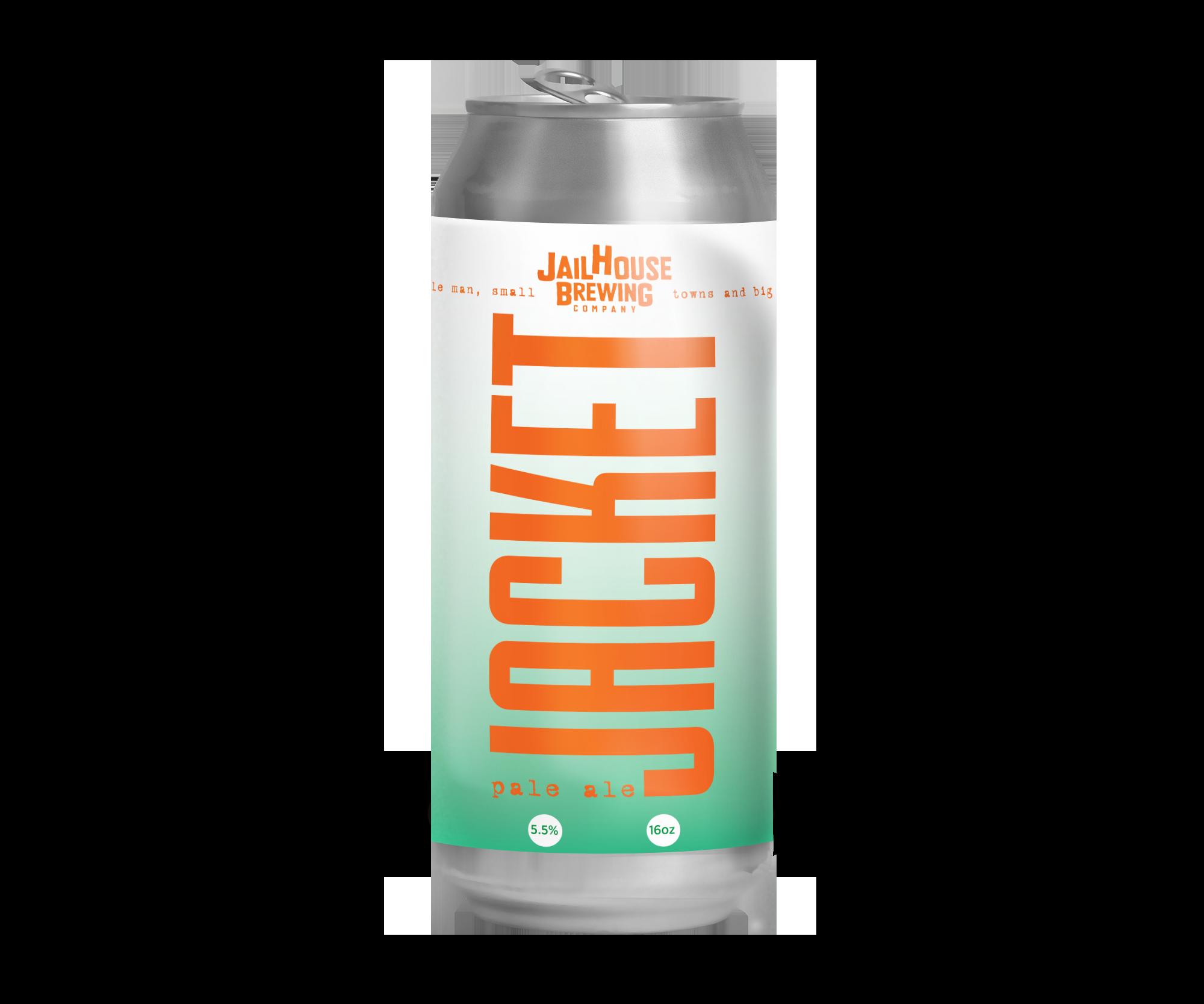 JACKET PALE ALE   PALE ALE | 5.5% | 40 IBU   COMING SOON!