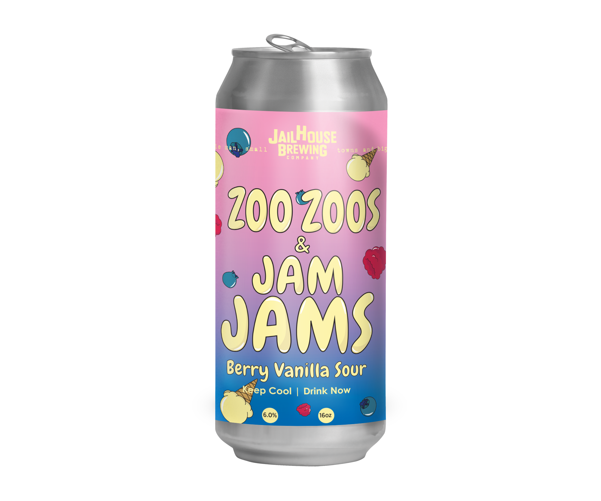 ZOO ZOOS & JAM JAMS   BERRY VANILLA SOUR | 6% | 10 IBU  SOUR CANDY | SHERBET | BLUEBERRY | SMOOTH  MARCH 2019