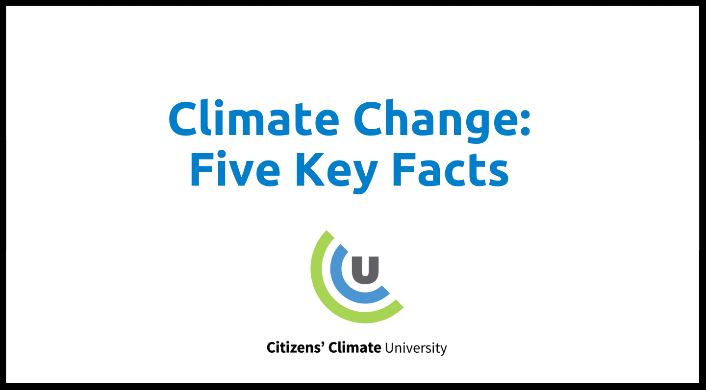 This presentation is a simple overview of the science behind climate change, its potential consequences, and potential solutions.
