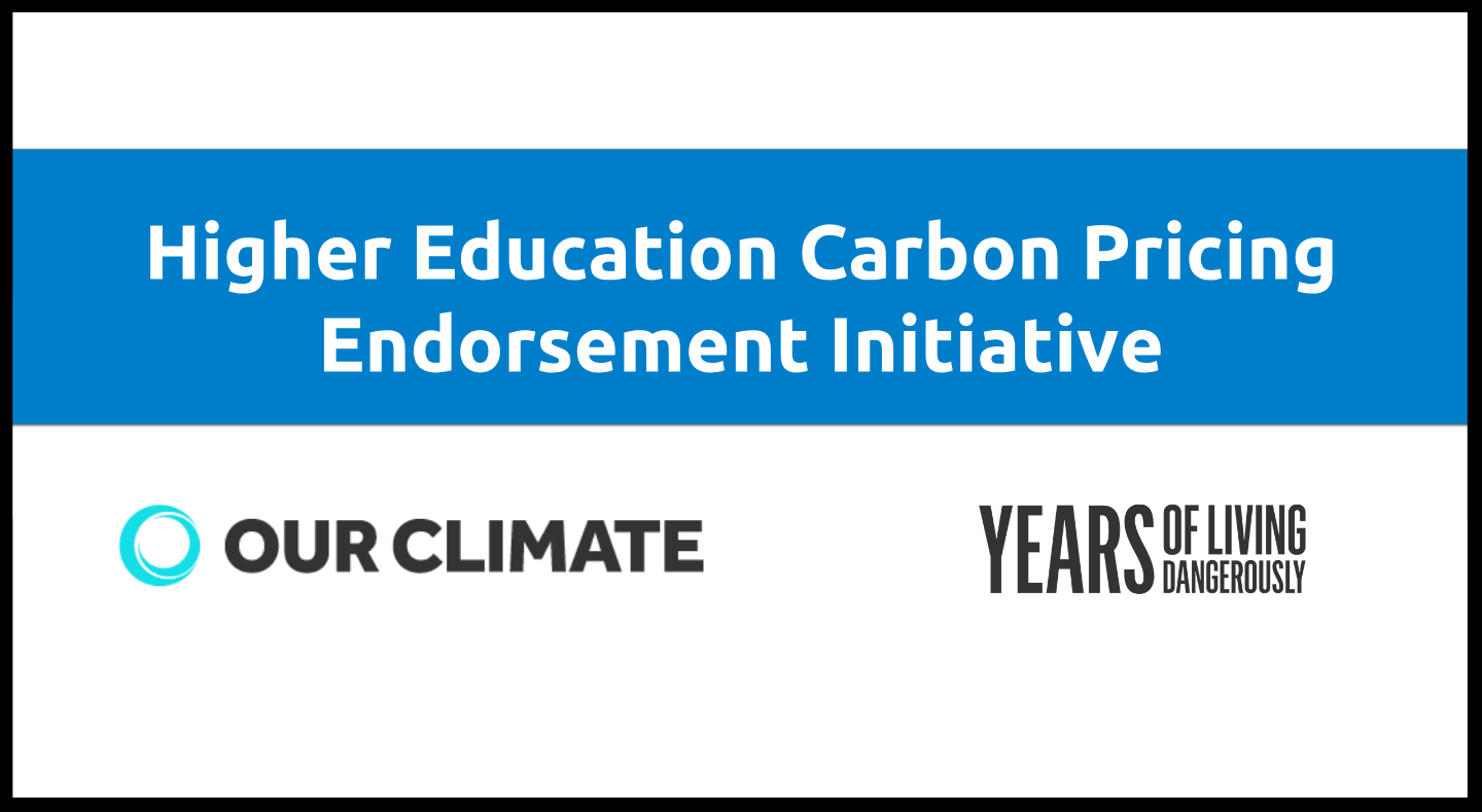 This presentation is for Presidents and administrators considering an endorsement on carbon pricing.