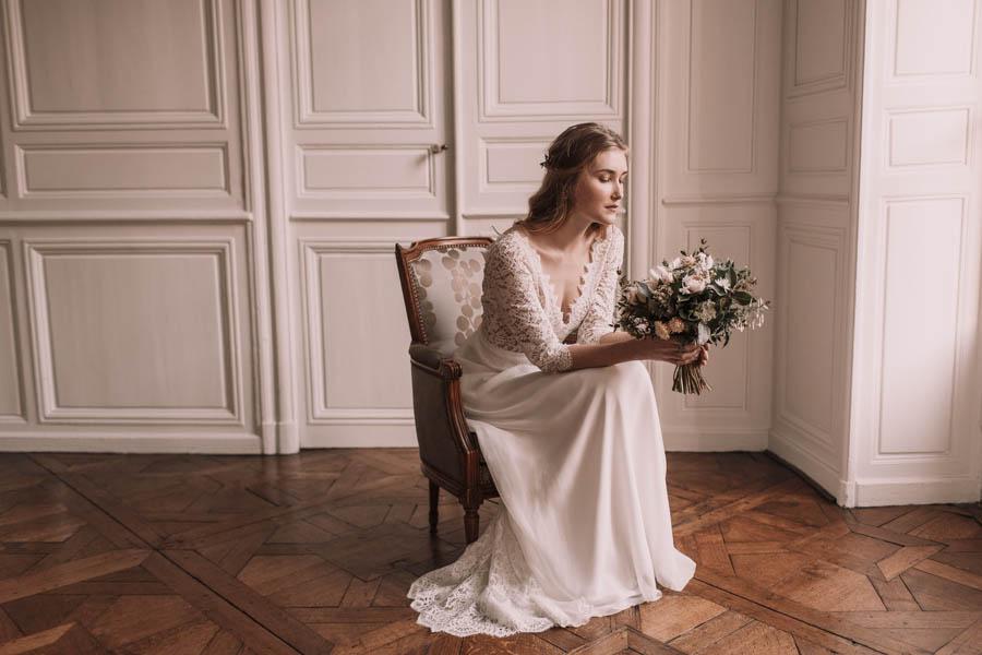 White and minimal wedding inspiration -