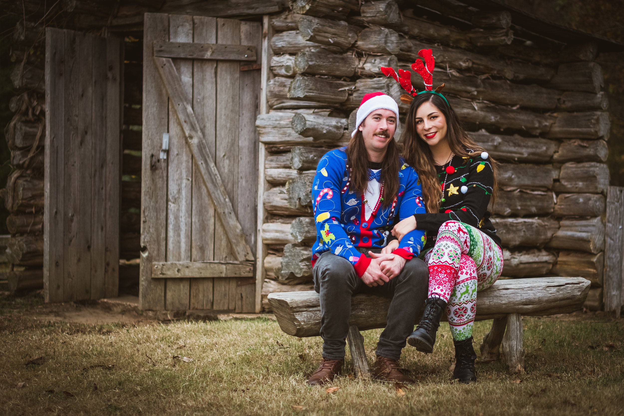 Samantha and Aaron Christmas Card Portrait - Bound For Glory Productions-1.jpg