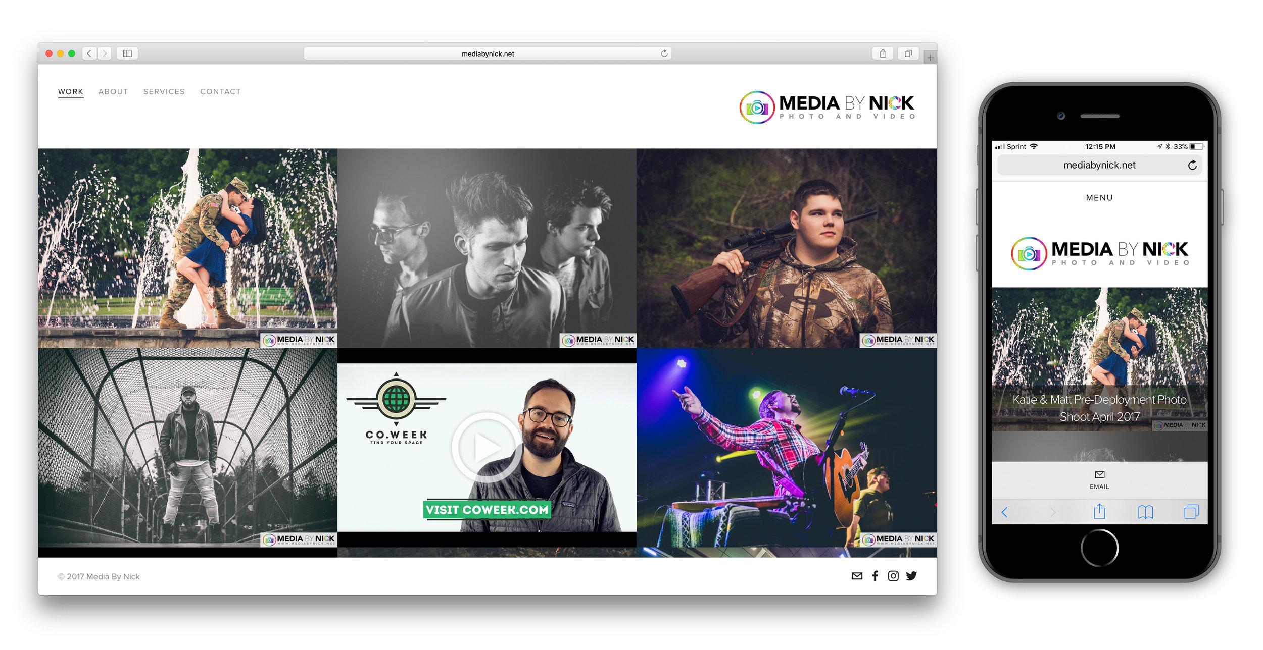 Web Design Media By Nick