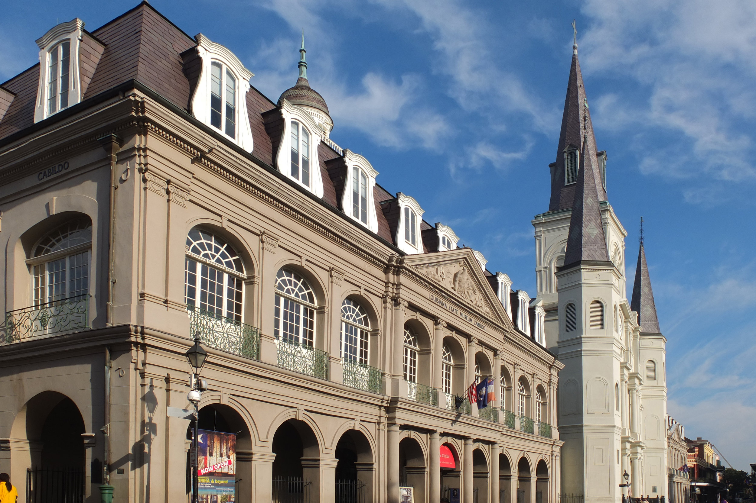 We Secure Museums - The Louisiana State Museum Cabildo chose Active Solutions to secure its New Orleans Tricentenniel exhibition.