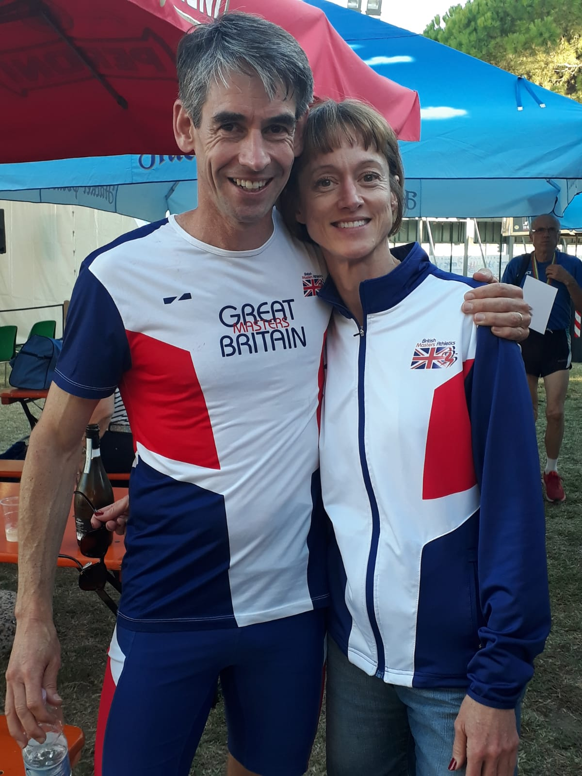 Masters of Europe - Gold medallists Lisa Thomas and Dominic Bokor-Ingram
