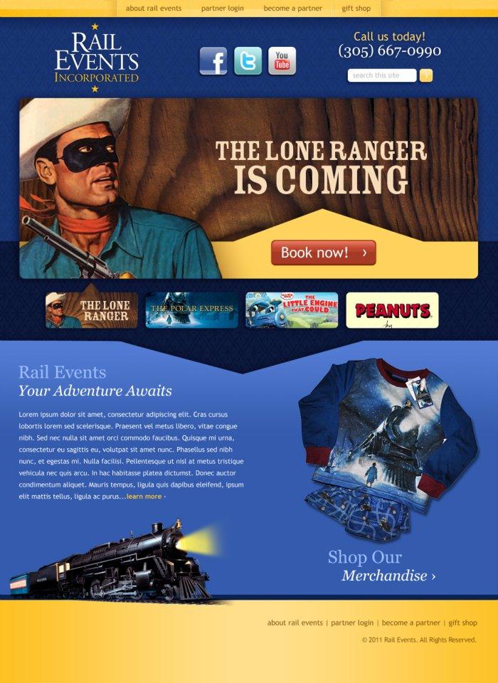 Website - Rail Events