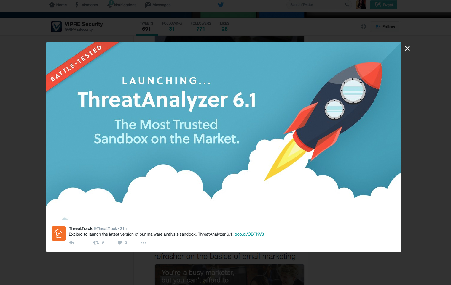 Display Ad - ThreatTrack