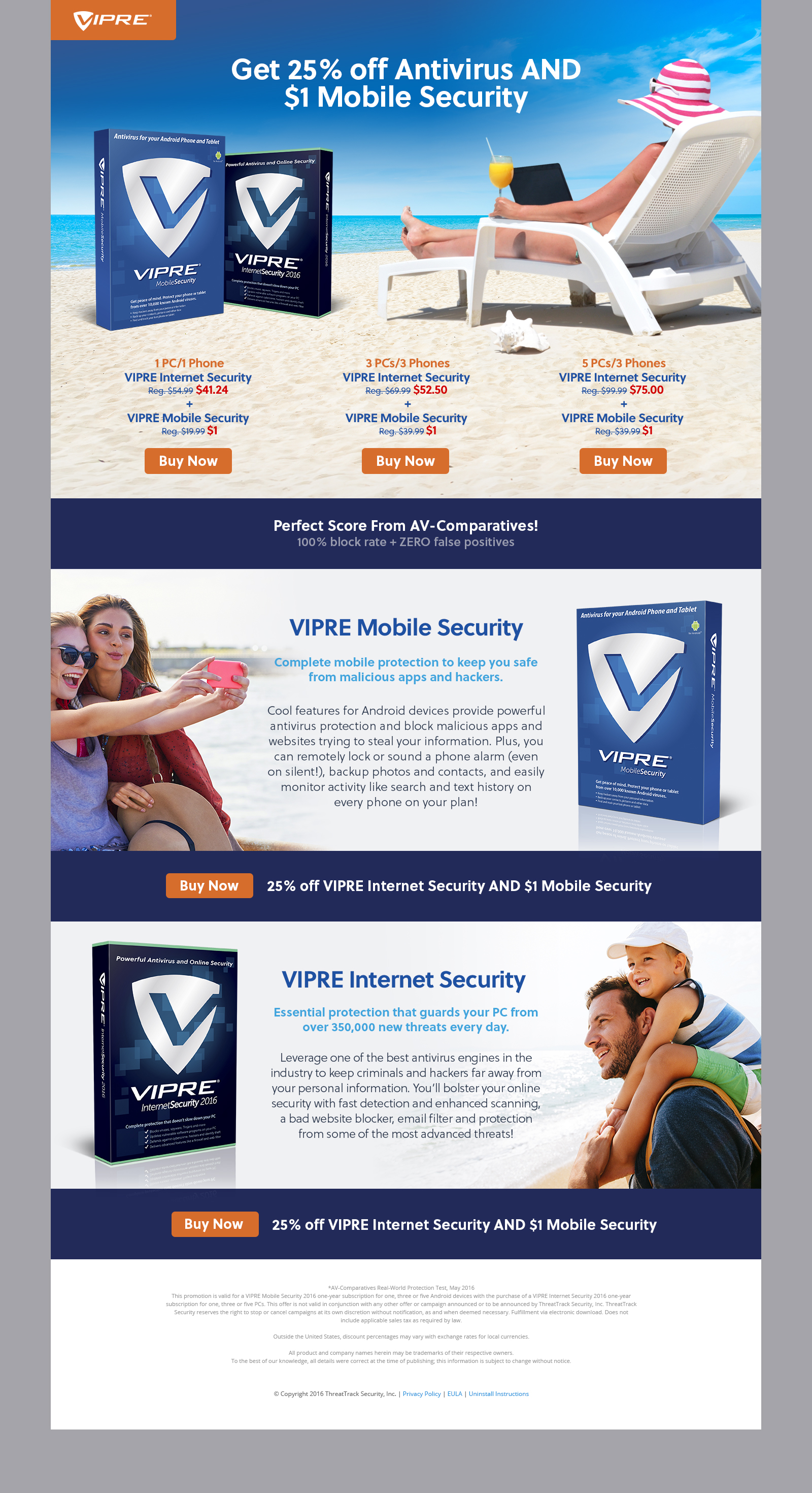 Landing Page - VIPRE