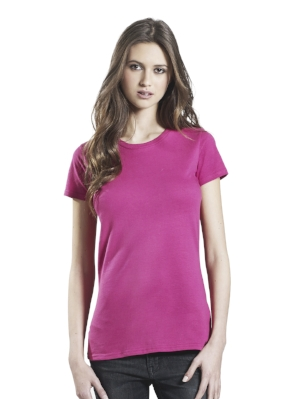 EP04 Womens Slim Fit Jersey T-shirt  100% Combed Organic Cotton Jersey 155g  More details >