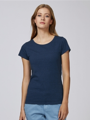 Stella Wants Organic Round Neck T-shirt  100% Organic Ring-spun Combed Cotton 155g Fitted  More details >