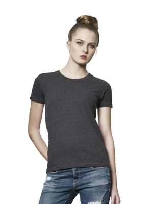SA02 Womens Slim Fit T-shirt  60% Recycled pre-consumer cotton organically grown, 40% Recycled post-consumer polyester jersey. 165g  More details >