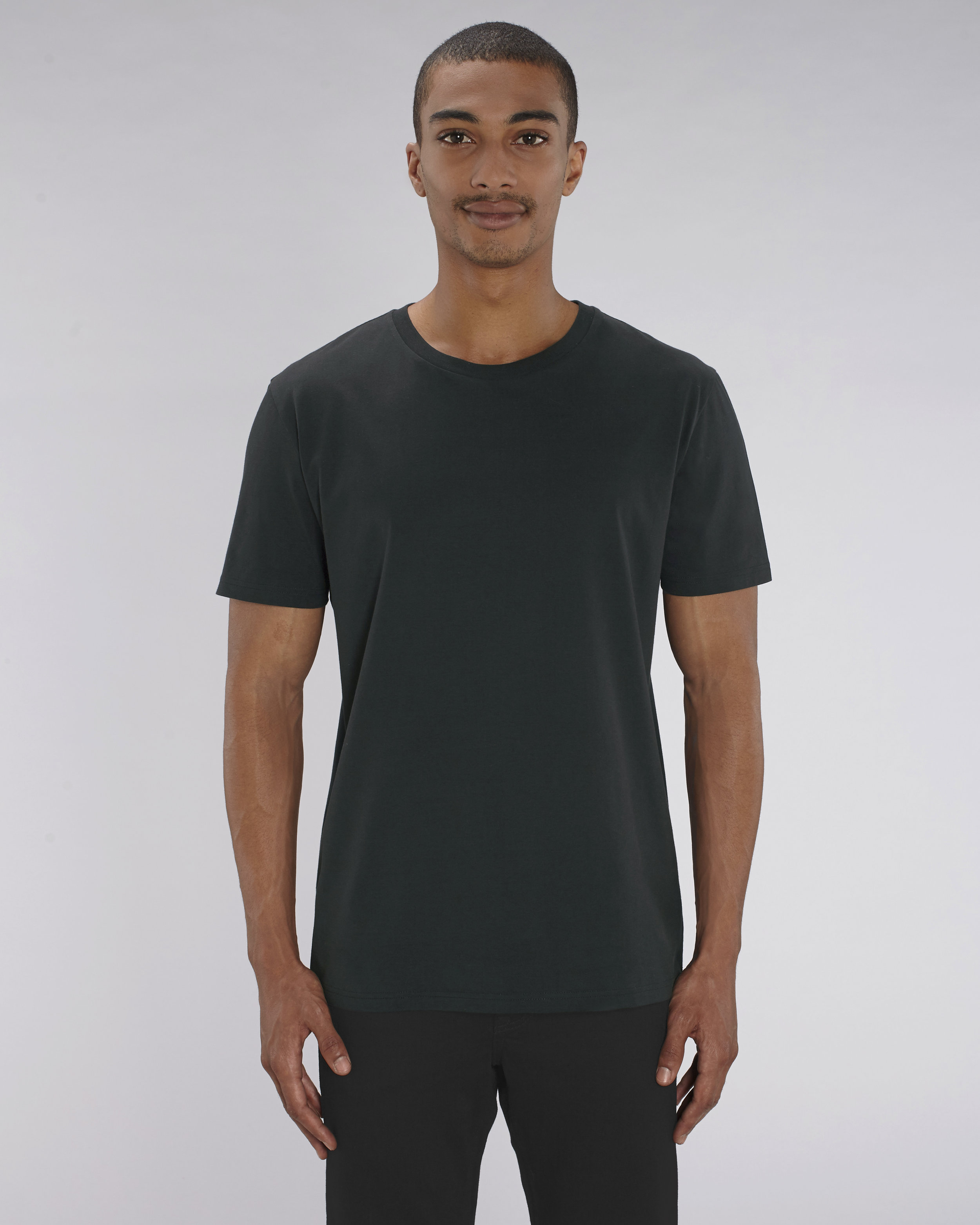 Stanley Stella Organic Creator T-shirt in Black