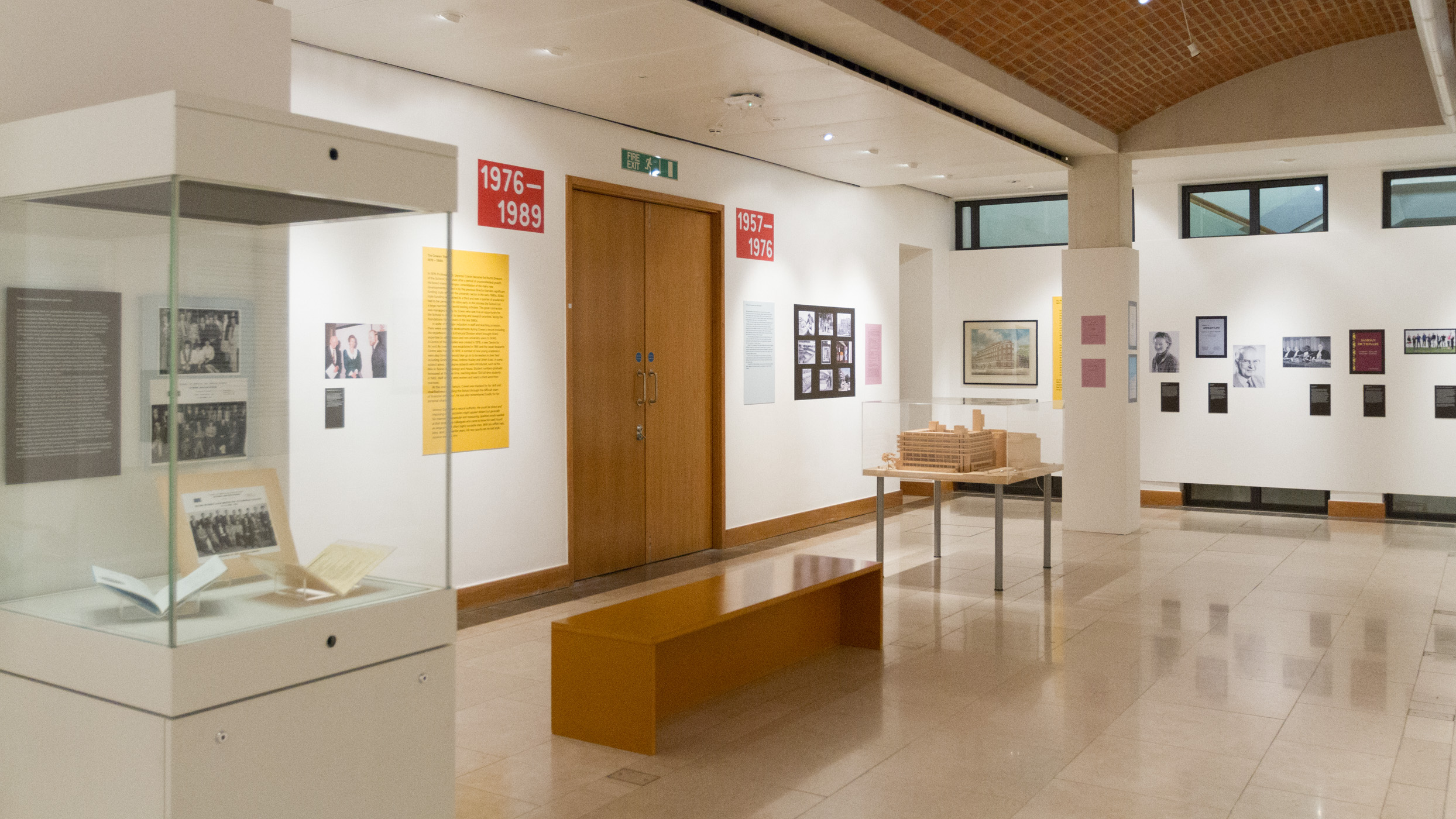 The Brunei Gallery Exhibition Space