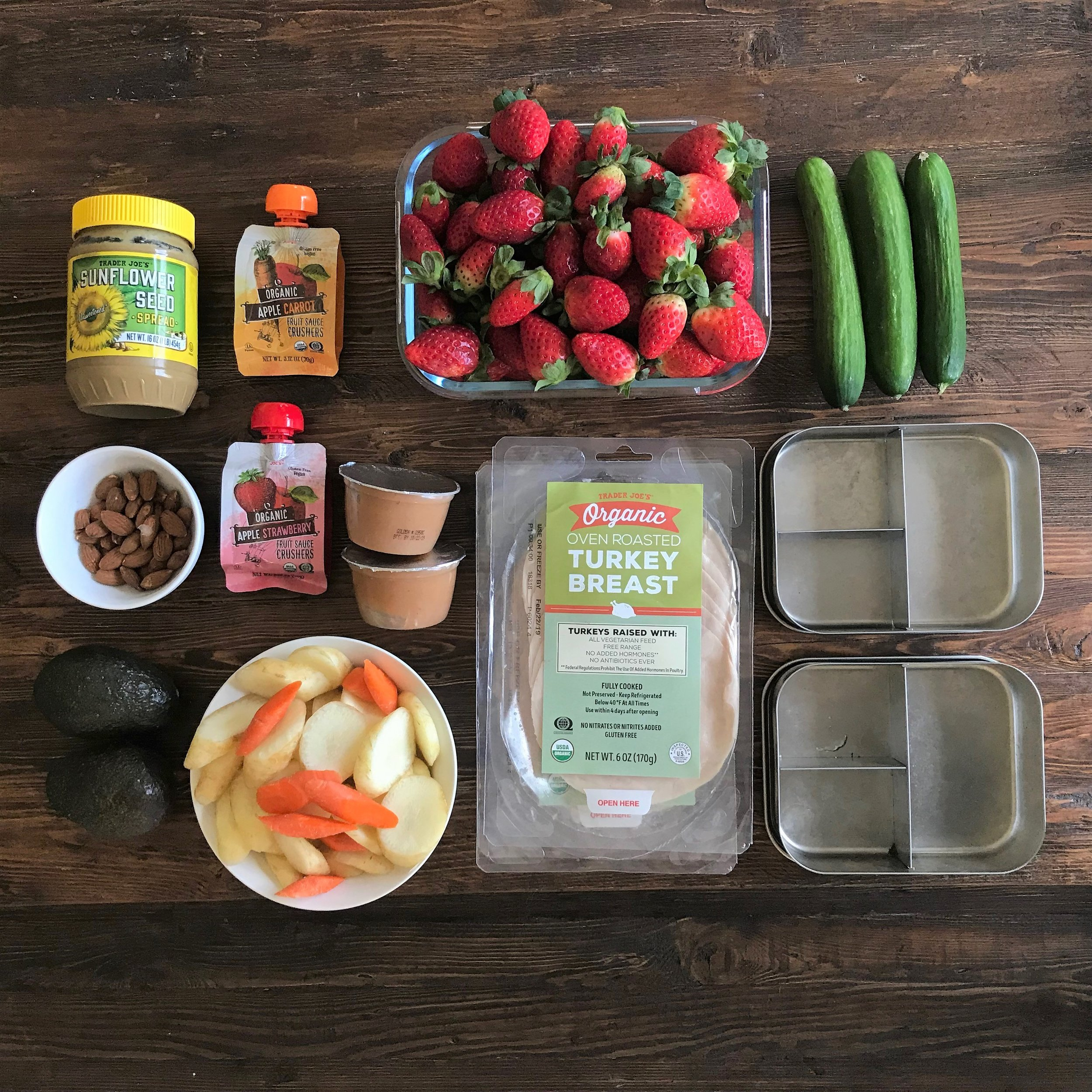 Click for the link to these stainless steel lunch boxes on amazon!