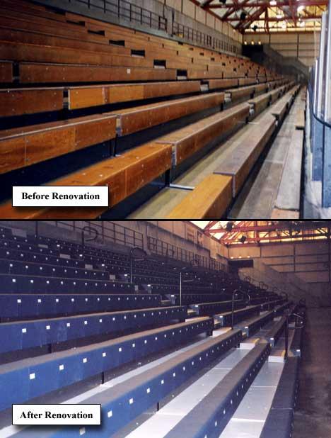 Bleacher Renovation