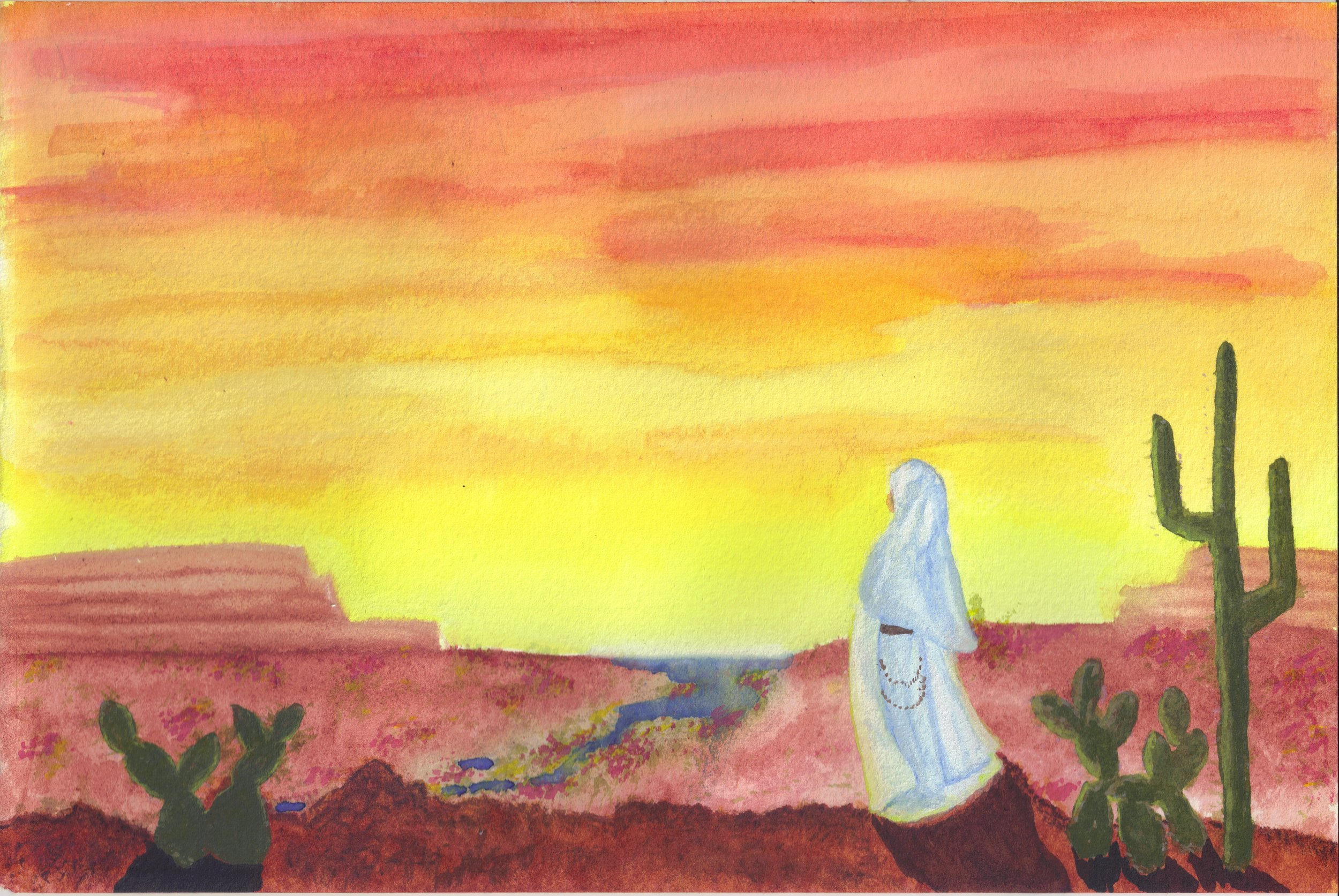 I will lead her into the desert and allure her…