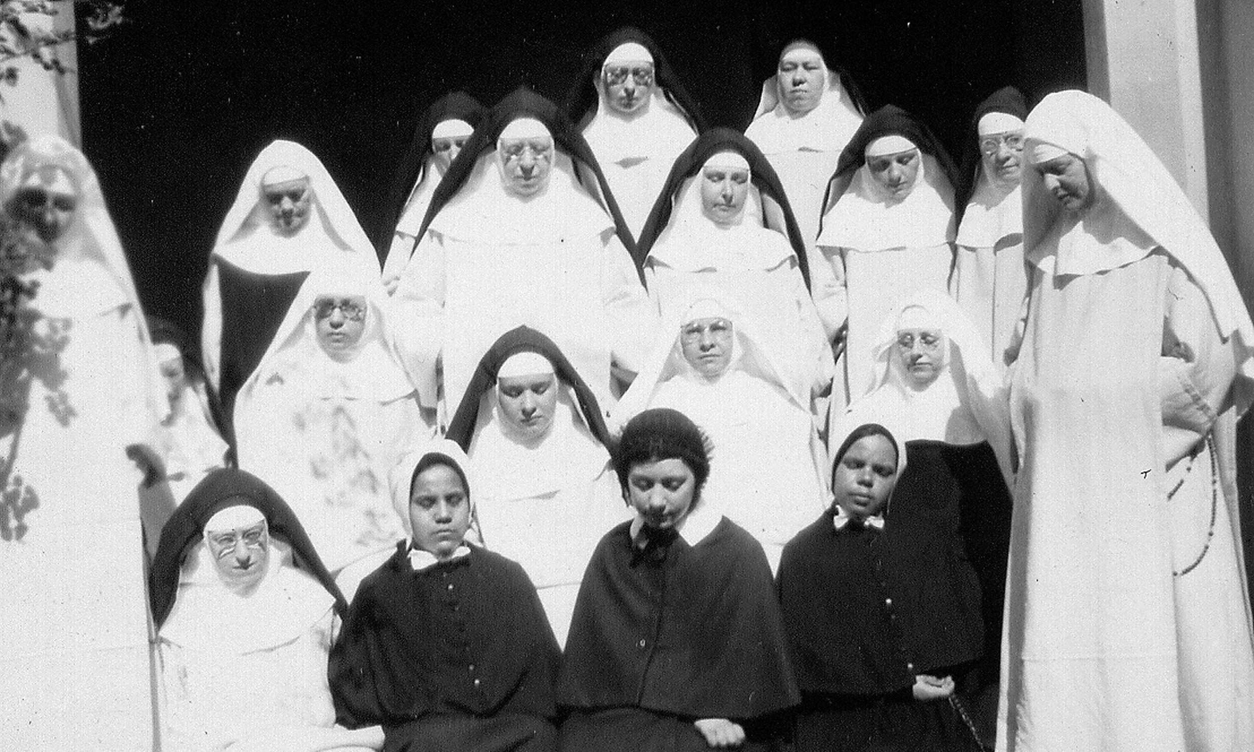 A photo of our community from the 1930s. Already it had grown from the very small group of nuns who first arrived in San Francisco in 1921.