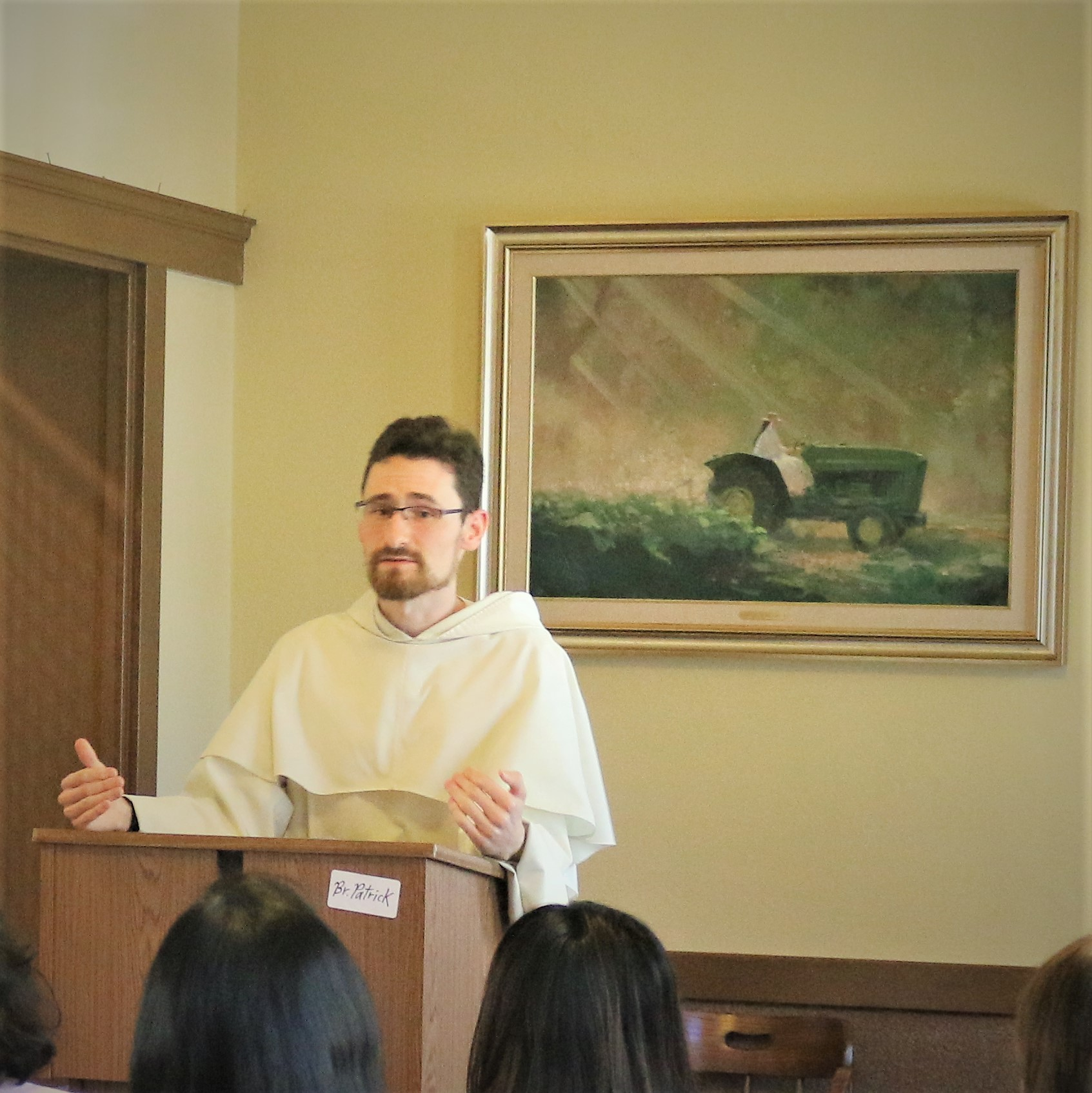Brother Patrick Rooney, O.P. of the Western Dominican Province