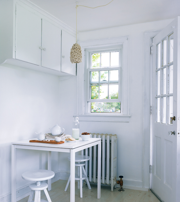 white is a natural design element that can transmit peace. -