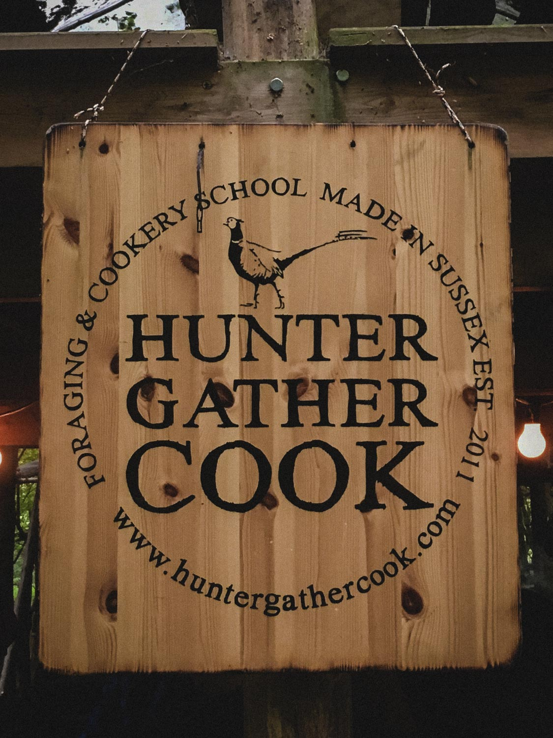 Welcome at Hunter Gather Cook Headquarters
