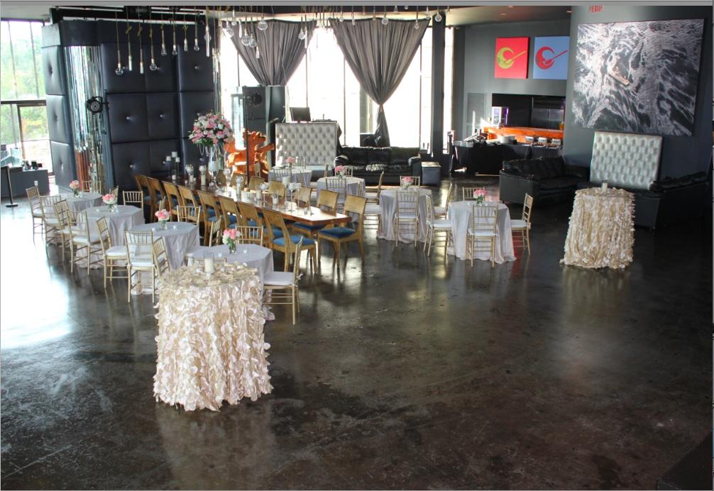 New Orleans Wedding Decor