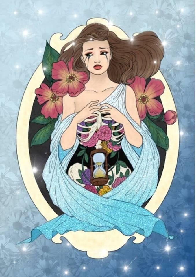 Winner: Marie Alice Lucas  Artist: Izabela Rozrysowanamama
