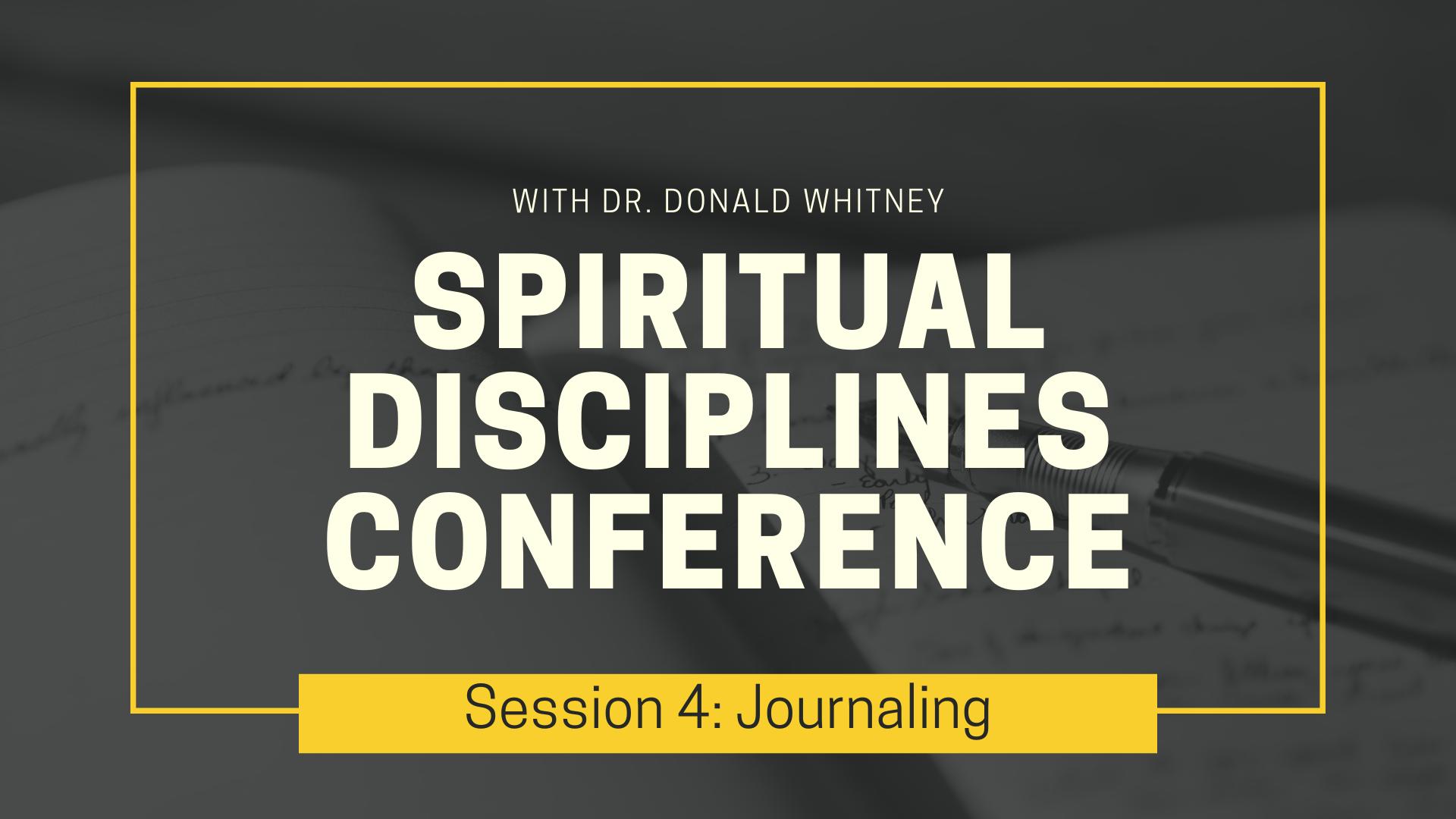 Spiritual Disciplines Conference - Journaling.png