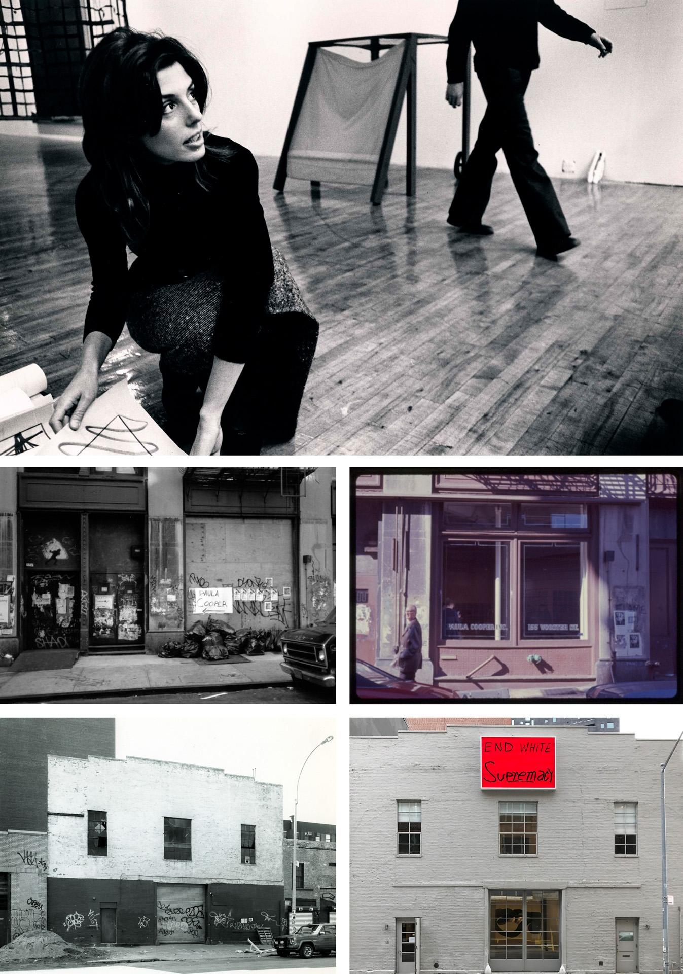 Photo credits (clockwise from top): unknown, Jaime Davidovich, EPW Studio, Geoffrey Clements, Jaime Davidovich