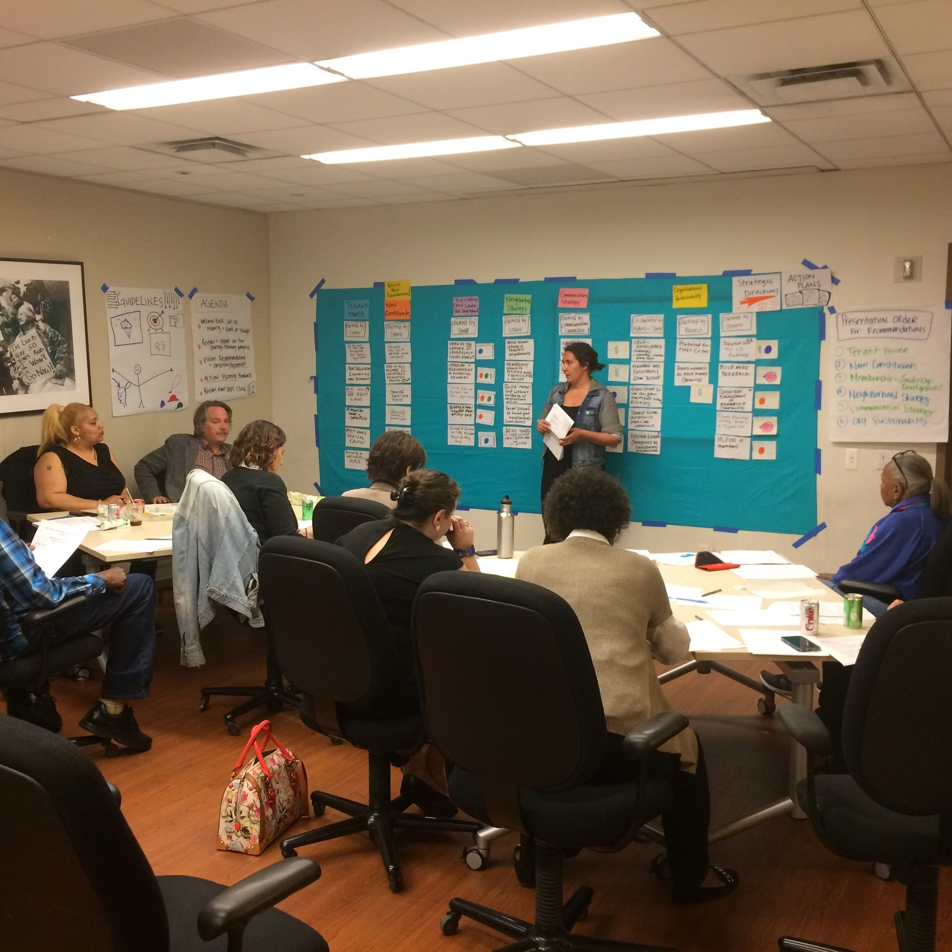 Building a Vision and Strategic Plan - CASE STUDY: Tenants + Neighbors