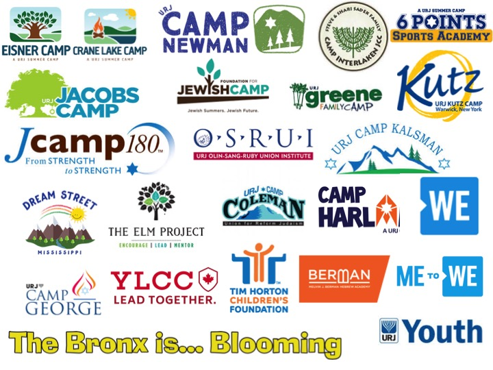 Over the last decade, The Group Forward is proud to have worked with these Camps and youth focused organizations.