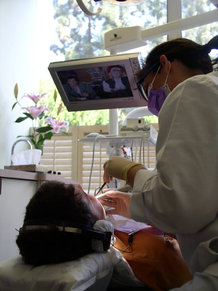 Our patients get to live stream movies, TV Shows or listen to music while in the chair.