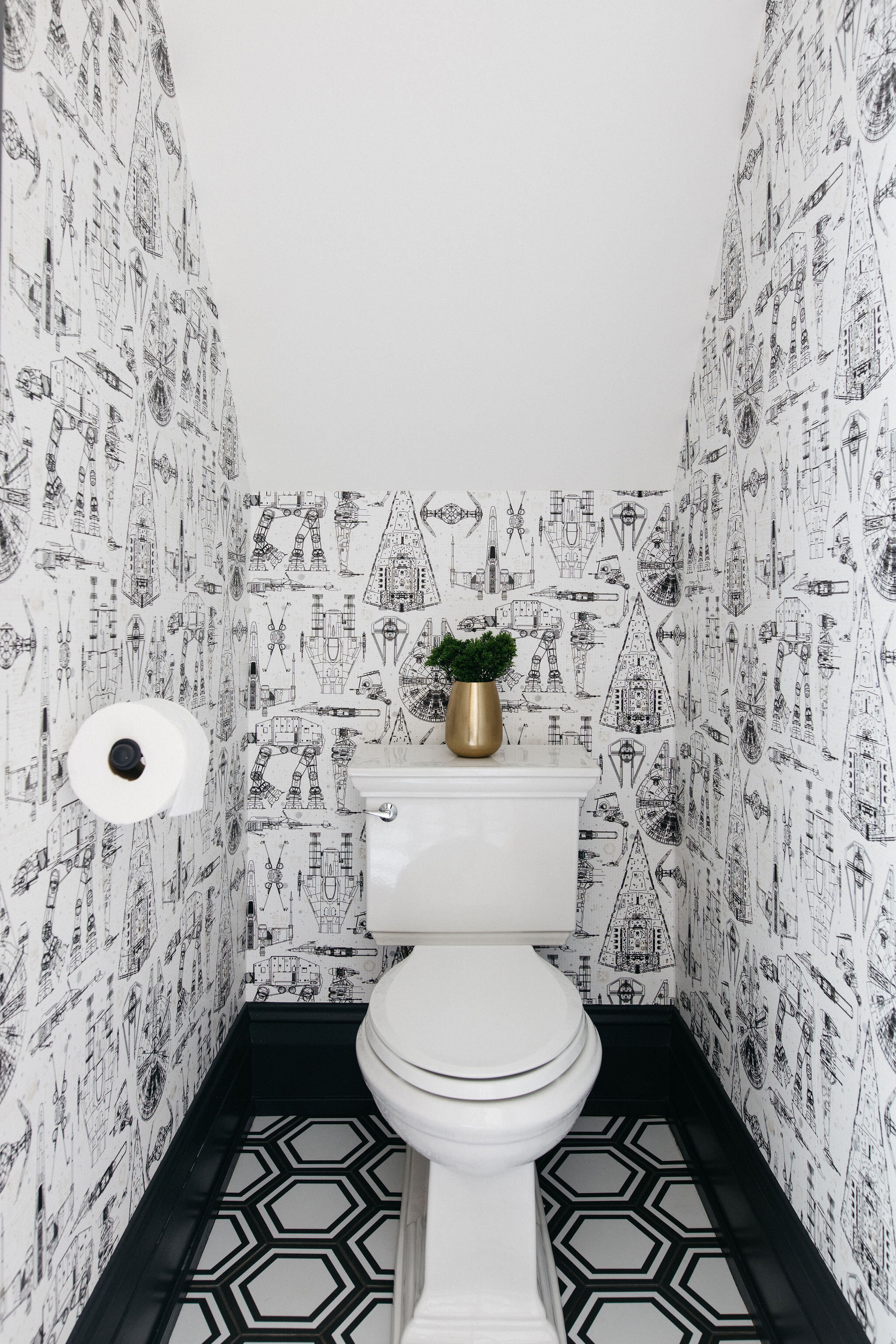 North And Madison Chicago Interior, Star Wars Bathroom